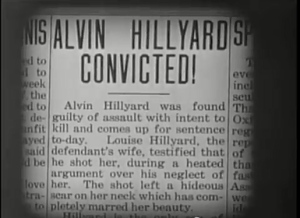 The Scar of Shame - Alvin is convicted