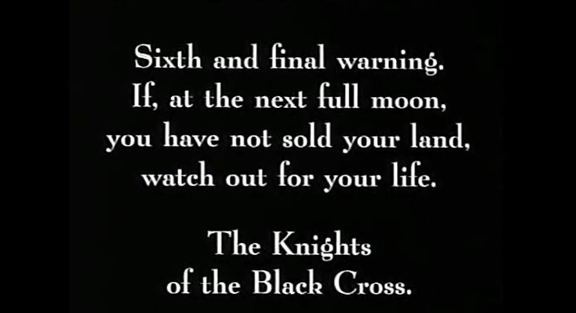 Warnings from the Black Cross
