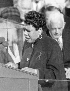 Maya Angelou at the White House
