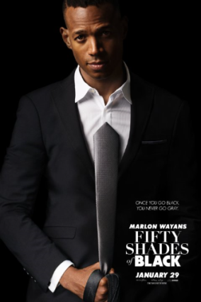 Fifty Shades of Black Poster #2