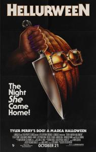 Boo!  A Madea Halloween poster