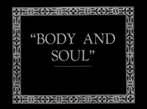 Body and Soul still #1